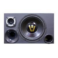Caixa Trio Som Completa Radio Bluetooth Usb Modulo Taramps Kit Compet Radio Preta