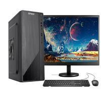 """Computador Completo Fácil Intel Core I3 10100f (décima Geração) 8gb Ddr4 Geforce Nvidia 1gb Ssd 120gb Monitor 19"""" Hdmi"""
