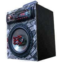 Caixa Residencial Radio Bluetooth Usb + Falante 6 Bravox Caixa Slim Bravox Jornal