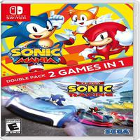 Sonic Mania + Team Sonic Racing Double Pack - Switch