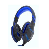 Fone De Ouvido Headset Gamer Com Microfone P3 Kp-433 Cinza