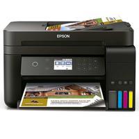 Impressora A Cor Multifuncional Epson Ecotank L6171 Com Wifi Preta 110v/220v