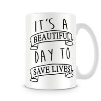 Caneca Greys Anatomy To Save Lives