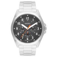 Relógio Orient Masculino Analógico Prata Preto Mbssm086 P2sx