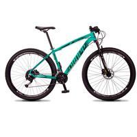Bicicleta Aro 29 Dropp Rs1 Pro 27v Alivio, Fr. Hidra E Trava - Verde/preto - 21'' - 21''