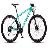 Bicicleta Aro 29 Dropp Rs1 Pro 27v Alivio, Fr. Hidra E Trava - Verde/branco - 21'' - 21''