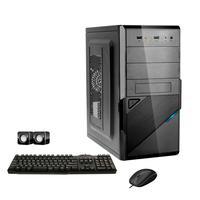 Computador Corporate I3 4gb Hd 500gb Dvdrw Kit Multimídia Windows 10