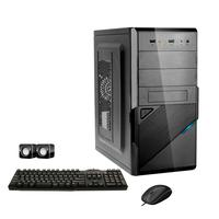 Computador Corporate I3 4gb 240gb Ssd Dvdrw Kit Multimídia Windows 10