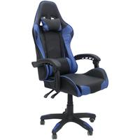 Cadeira Gamer Base Giratória Reclinável - Azul - Nagano