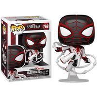 Boneco Funko Pop Marvel Spider-man Miles Morales T.r.a.c.k 768