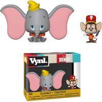 Boneco Funko Vinyl Disney Dumbo+ Timothy 2 Pack