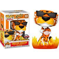 Boneco Funko Pop Cheetos Chester Cheetah With Flames Glow 117