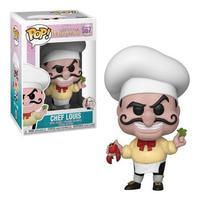 Boneco Funko Pop Disney Little Mermaid Prince Chef Louis 567