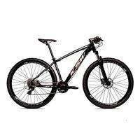 Bicicleta Alum 29 Ksw Cambios Gta 24 Vel A Disco Ltx Hidráulica  Preto/prata