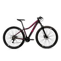 Bicicleta Alumínio Aro 29 Ksw Shimano Tz 24 Vel Ltx Krw20 - 15.5´´ - Preto/rosa