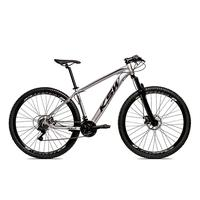 Bicicleta Alumínio Aro 29 Ksw Shimano Tz 24 Vel Ltx Krw20 - 19´´ - Prata/preto