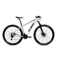 Bicicleta Alum 29 Ksw Cambios Gta 24 Vel A Disco Ltx - 19´´ - Branco/preto
