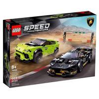 Lego Speed Champions 76899 Lamborghini Urus St-x E Huracán