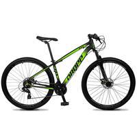 Bicicleta Aro 29 Dropp Z4x 24v Suspensão E Freio A Disco - Preto/verde - 21''