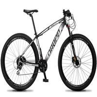 Bicicleta Aro 29 Dropp Rs1 Pro 24v Acera Freio Hidra E Trava - Preto/branco - 17''