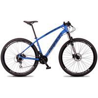 Bicicleta Aro 29 Dropp Tx 24v Acera, Susp E Freio Hidraulico - Azul/preto - 19´´ - 19´´