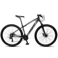 Bicicleta Aro 29 Dropp Z4x 24v Suspensão E Freio A Disco - Preto/cinza - 17''