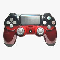 Controle Playstation 4, Dualshock 4, Competitivo, Shadow Red