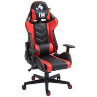 Cadeira Gamer Fox Racer Fx-528 - Vermelho
