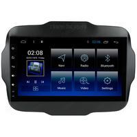 Multimídia Jeep Renegade Pcd Tela De 9´´ Octa Core 2gb Android Gps Câmera De Ré Sem Tv Aikon