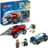 Lego City Polícia De Elite, Perseguição De Carro Perfurador