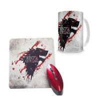 Kit Caneca + Mousepad Game Of Thrones Winter Blood