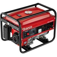 Gerador De Energia A Gasolina Branco B4t-2500s 2,2 Kva 6,5cv 110/220v
