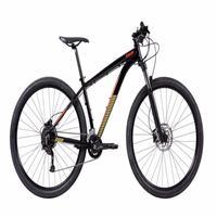 "Bicicleta Mtb Caloi Moab Aro 29 - 2021 - Shimano - Quadro 21"" - 18 Velocidades - Preto"