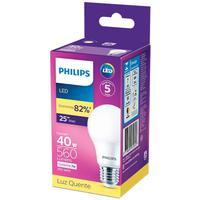 Lâmpada Led Philips 7w Bivolt Luz Amarela 3000k Base E27