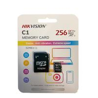 Cartão de Memória Hikvision, 256gb, Microsd com Adaptador, 92mb/s, C1 Series - HS-TF-C1(STD)/256G/OD