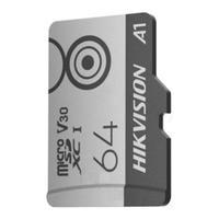 Cartão de Memória Hikvision, 64gb, Microsd, M1 Series - HS-TF-M1(STD)/64G