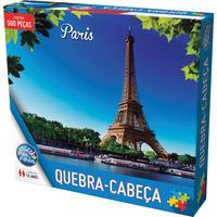 Quebra Cabeça Cartonado Paris 500 Peças