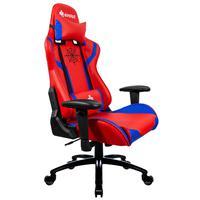 Cadeira Gamer Eg-920 Heroes, Vermelha e Azul