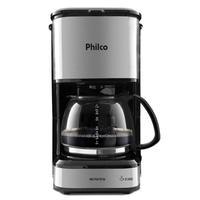 Cafeteira Inox Plusbase, com aquecimento, 1.2 Litro - Pcf42i - Philco