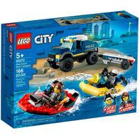 Lego City - Transporte De Barco Da Polícia De Elite - 60272