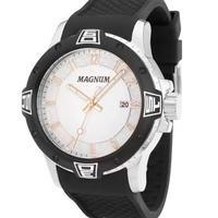 Relógio Masculino Magnum Analógico Ma34414q - Prata