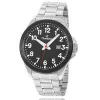 Relógio Champion Masculino Prata Preto Ca31695t