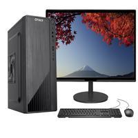 Computador Completo Fácil, Intel Core I3, 8gb, Ssd 120gb, Monitor 15pol Hdmi Led, Teclado E Mouse