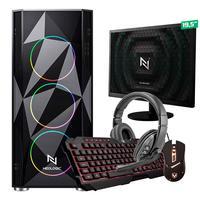 Kit - Pc Gamer Start Nli82886 Amd 320ge 8gb (vega 3 Integrado) Ssd 240gb + Monitor 19,5