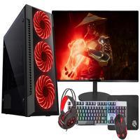"Pc Gamer Completo Fácil Intel Core I7 3.4ghz 16gb Ssd 240gb Gtx 750 4gb Monitor 21"" Hdmi Led Teclado E Mouse Gamer"