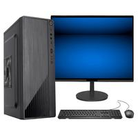 "Computador Fácil Intel Core I7 3.4ghz 8gb Hd 1tb Monitor 21"" Hdmi Led Teclado E Mouse"