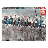 Puzzle 1500 Peças Almoço Em Nova York - Educa - Importado