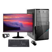 "Computador Desktop Corporate I3 Geração 10 8gb Ddr4 Hd 2tb Kit Multimidia Monitor 19,5"" Windows 10"