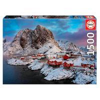 Puzzle 1500 Peças Noruega - Educa - Importado