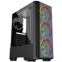Pc Gamer Intel 10a Geração Core I3 10100f, Radeon Rx 550 4gb, 8gb Ddr4 2666mhz, Hd 1tb, Ssd 120gb, 500w, Skill Pcx